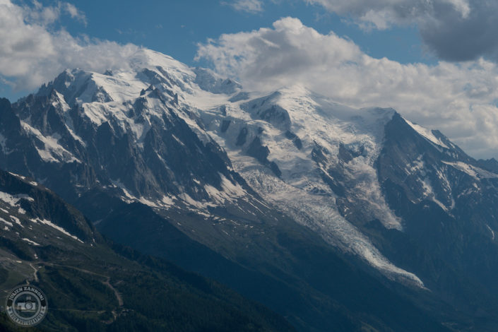 Valley of Chamonix from Tête de Balme in 2018