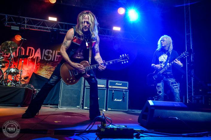 The Dead Daisies plays at the Guitare en Scène Festival 2018