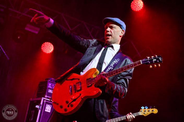 Thorbjorn Risager & the Black Tornado plays at the Guitare en Scène Festival 2018