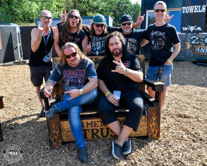 Skyline plays at the Wacken Open Air 2018