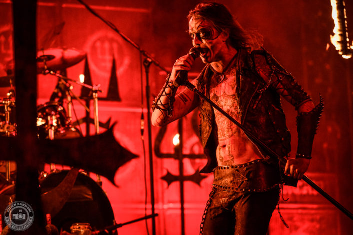 Watain is seen on stage during Wacken Open Air 2018 (Germany)