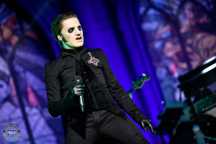 Ghost is seen on stage during Wacken Open Air 2018 (Germany)