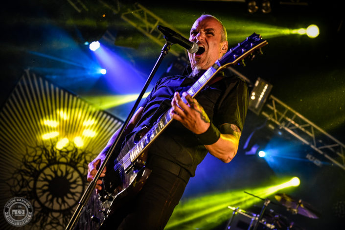 Samael is seen on stage during Octopode Festival 2018 (Switzerland)