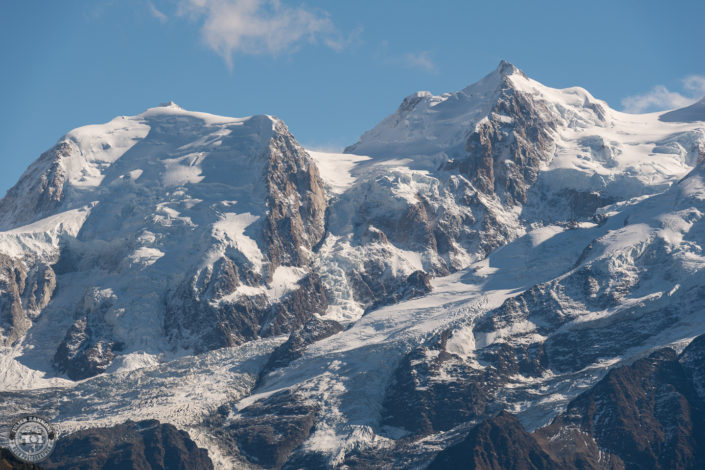 Mont Blanc and Chamonix in 2018