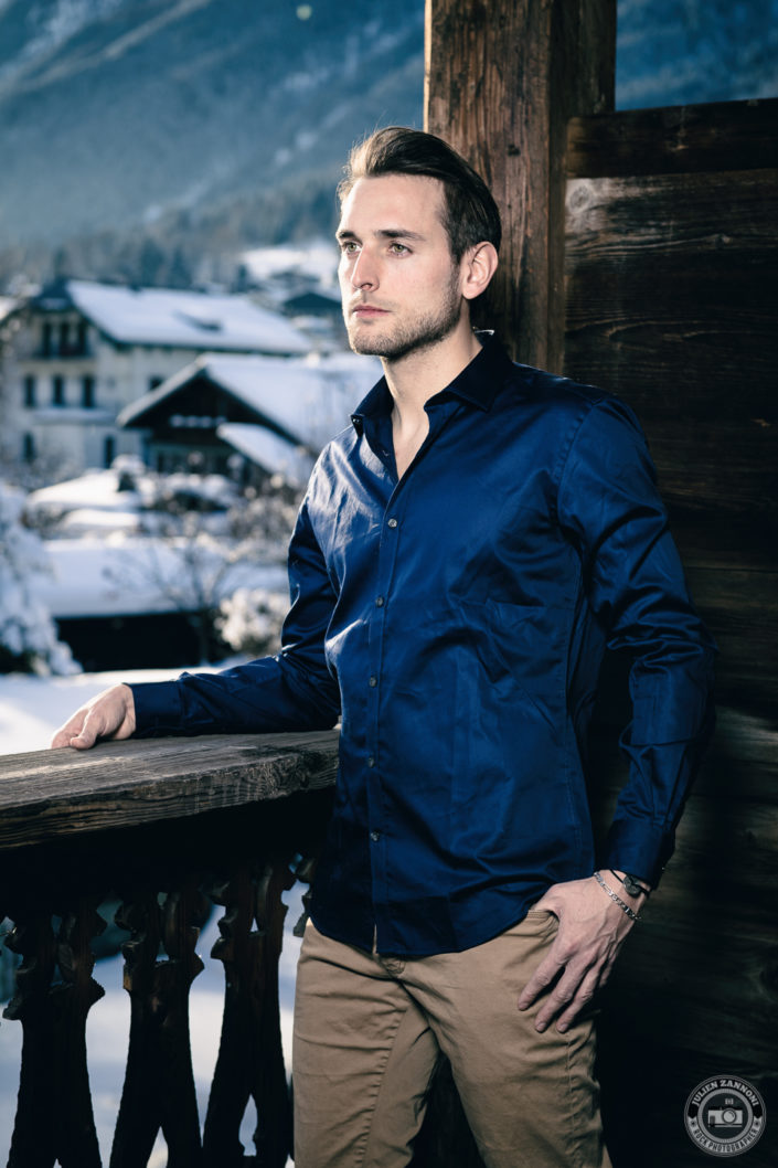 Photoshoot with Alexandre in Chamonix