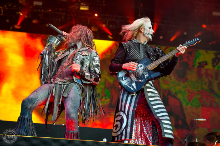Rob Zombie sur la scène du Hellfest Open Air 2019 à Clisson (France)