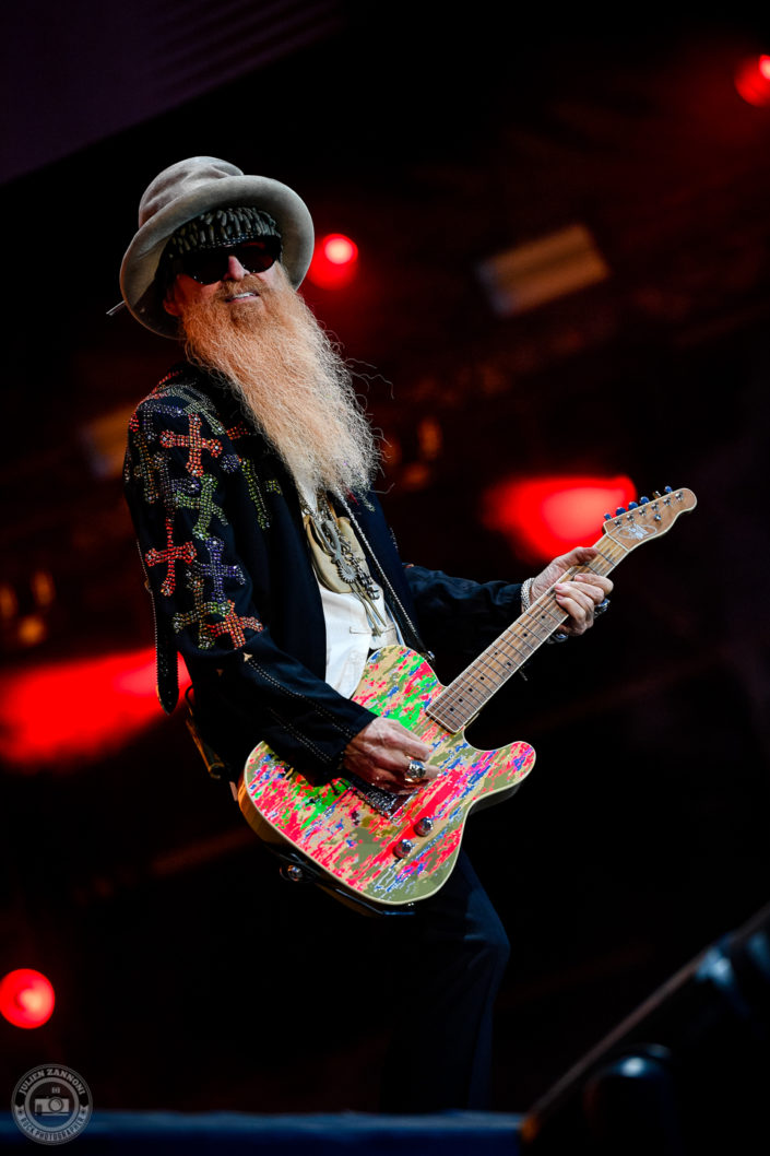 ZZ Top sur la scène du Hellfest Open Air 2019 à Clisson (France)