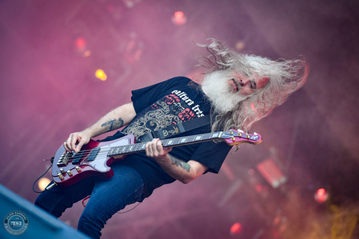 Lamb of God sur la scène du Hellfest Open Air 2019 à Clisson (France)
